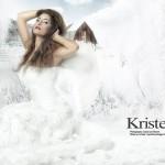 Kirstel Shannon snow bride - Ismstudio.com