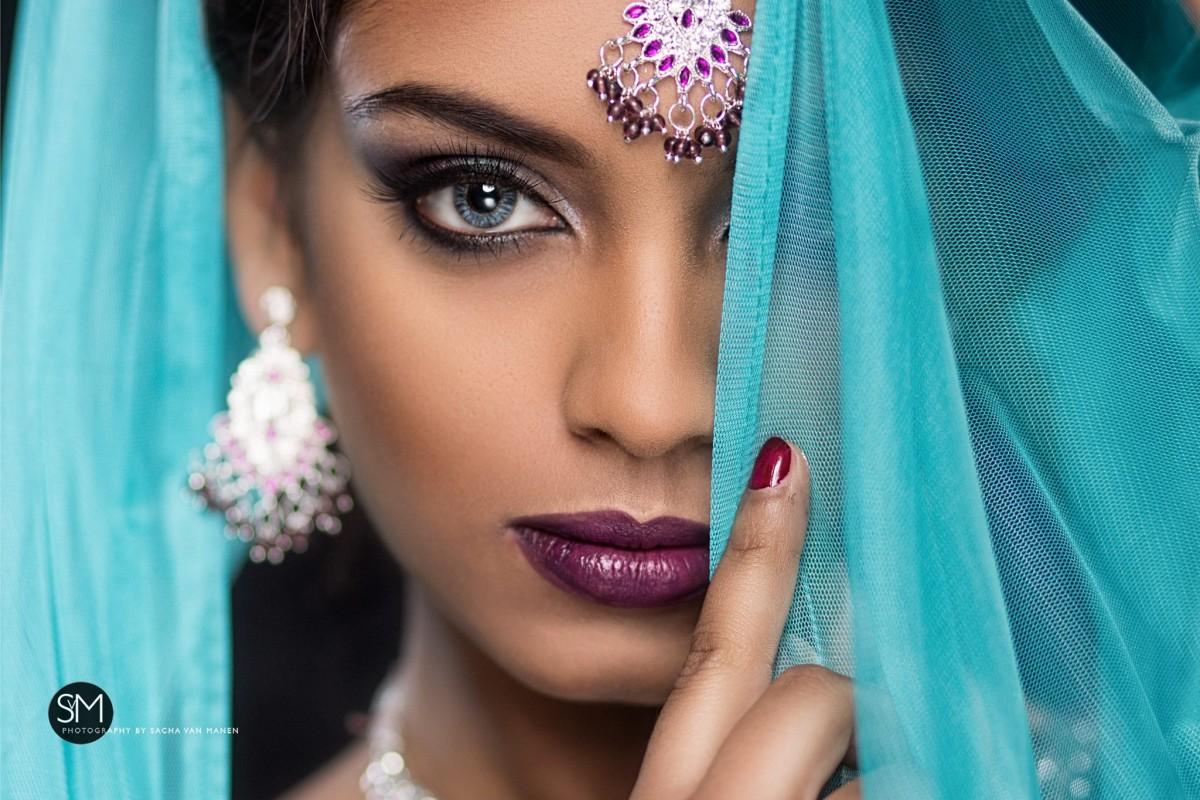 Indian bridal fotoshoot, fotograaf Almere , fotografe , sacha van Manen, ismstudio