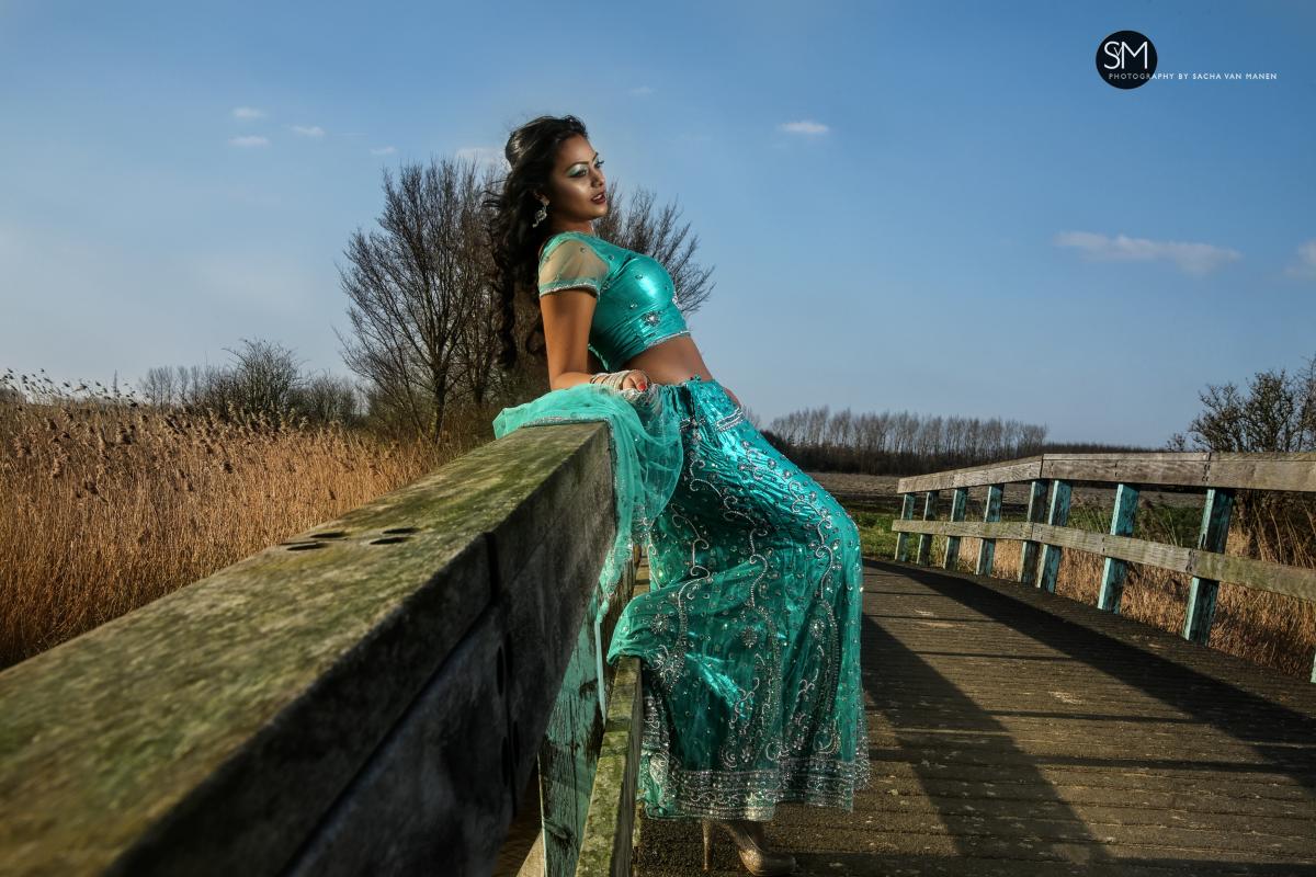 Fotoshoot Sangeeta Sacha van Manen fotograaf Almere